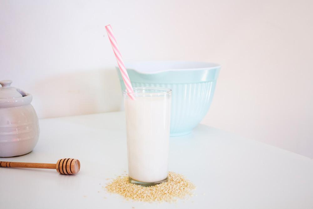 leche de sésamo