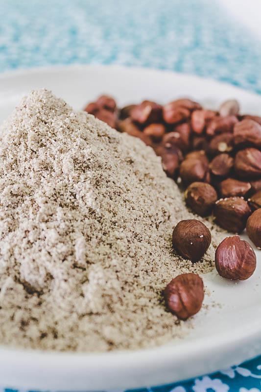 harina de avellana