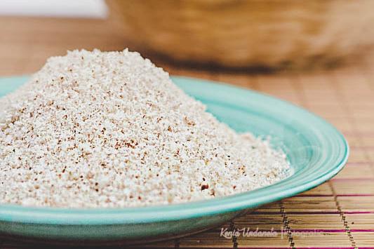 receta de harina de coco casera