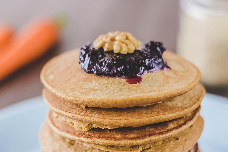pancakes de quinoa