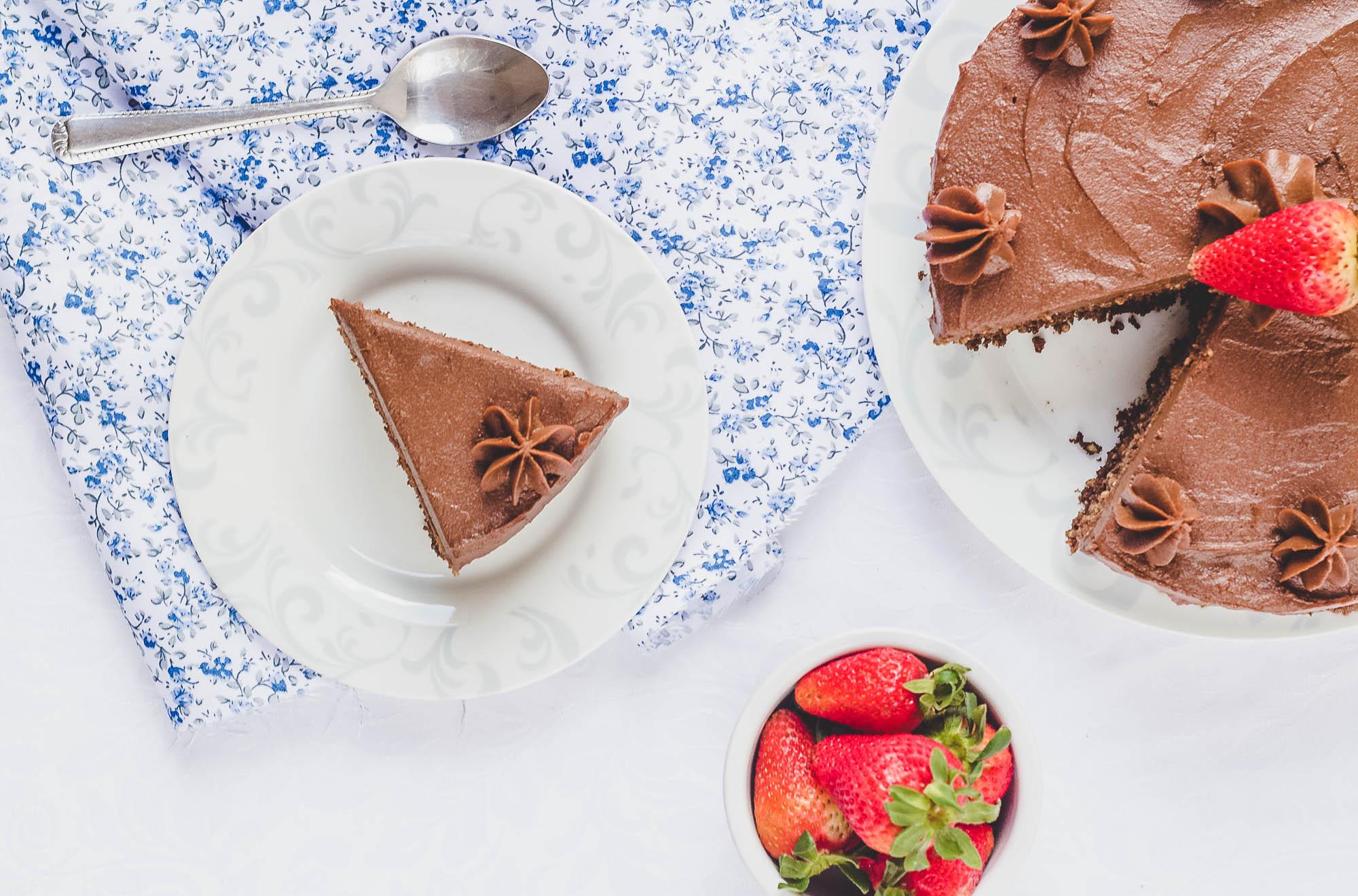 torta de chocolate saludable y facil